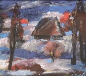Тепла зима, 2007, орг.т. 27х29,5