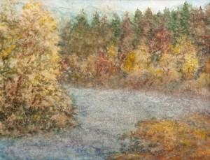 I. Bondarenko 'Mountain River'.