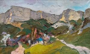 O. Shandor 'Grey Mountains', 2014