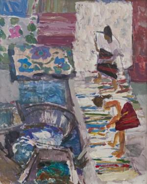 Шелевицький Ю.'Мийниці килимів'
