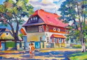 Сакалош А. 'Чеська колонія', 2017, п.о., 50х70