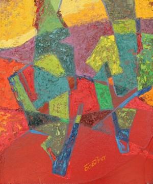 Duet, 2015, 60x50