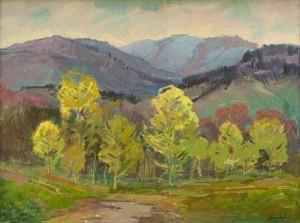 I. Bondarenko 'Spring In Krasiia Mountain'.