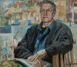 F. Erfan 'Portrait Of People's Artist of Ukraine V. Prykhodko', 2008