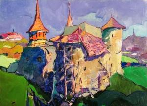 O. Shandor 'An Old Castle', 2015