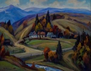 Y. Babynets. Carpathian Autumn, 2017
