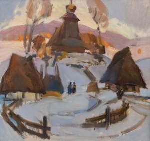Кашшай А. 'Солом'яні хати', 1977