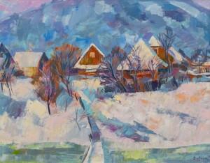 Вовчок В. 'Морозний день', 2016