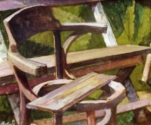 Старий стілець, 2002, орг.о. 32х38