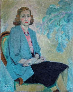 Female portrait, 1943
