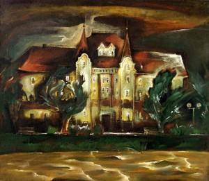 Перед грозою, 1985, т.двп, левкас, жовткова емульсія