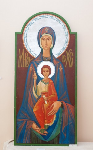 A. Urbanovych 'The Virgin of Odigitria' (icon), 2005.