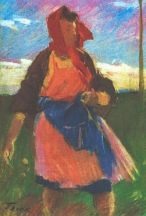 Вітер, 1970, пап.паст., 40х28