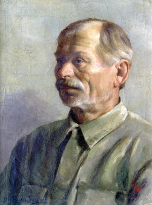 An old man. A sketch, 1952, к.о. 49х37