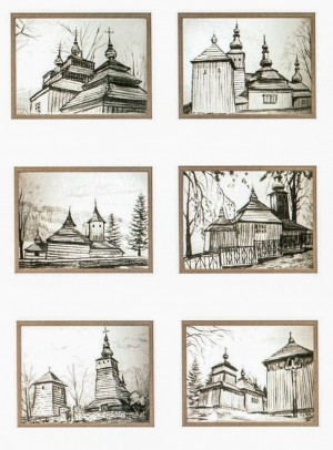 Sketches - Churches'