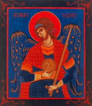 N. Tsiukh 'Archangel Michael', 2012.