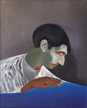 B. Firtsak Self-portrait', 1998, oil on canvas, 64x52