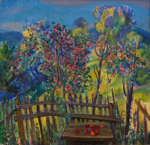 E. Kontratovych An Apple Tree', 1974