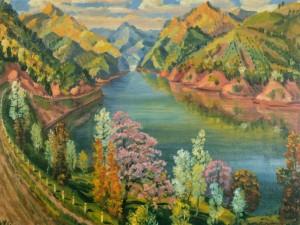 Вільшанська долина, 1960, п.о. 54х80