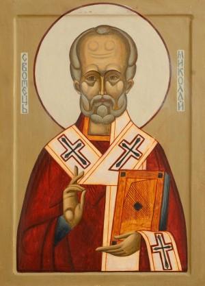 S. Yukhymiuk 'Saint Nicholas', 2011.