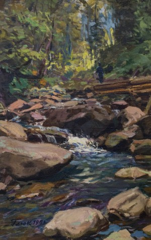 Mountain stream, 1951