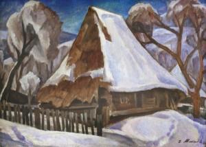 Стара хата, 1984 к.о. 50х70