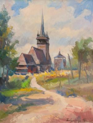 Бабинець Й.  'Церква в селі Данилово'