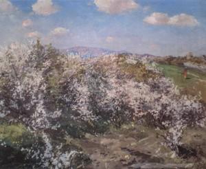 Весна, 1958, к.о., 76х89