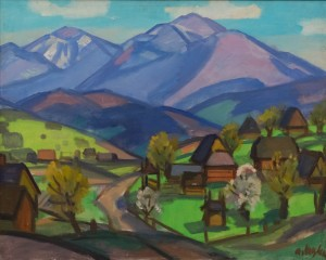 Коцка А. 'Весна в Ясінях', 1966