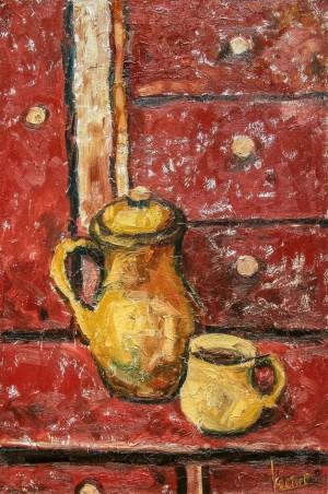 Костьо В. 'Старий кухонний шкаф'