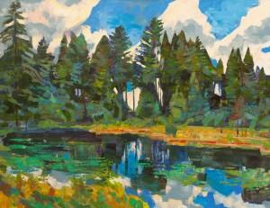 Вовчок В. 'Озерце', 2011