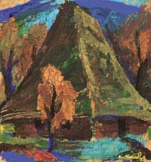 Стара хата, 2008, к.т. 29,3х53,5
