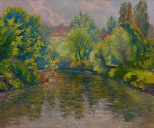 Гресько М. 'Річка Уж в межах парку', 2017
