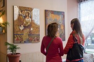 TRANSCARPATHIAN VALERII KOZUB PRESENTED THE EXHIBITION OF PAINTING AND GRAPHICS IN KYIV