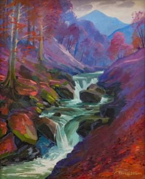 A. Brenzovych 'Autumn Cascades', 2017