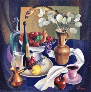 Still Life, 1993, oil on canvas