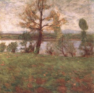 Springtime Mood (Bank Of The River Tisza), 1916