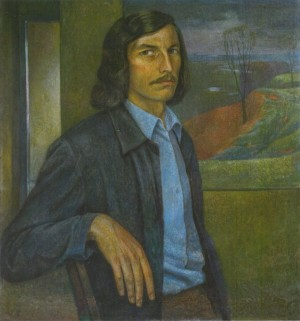 Self-portrait, 1975, oil on canvas, 65x60