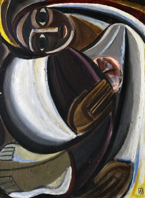 Viktor Hryhorov (1939 – 2002) «A Girl», 1968