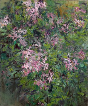 L. Korzh After The Rain. Lilac', 2015, oil on canvas
