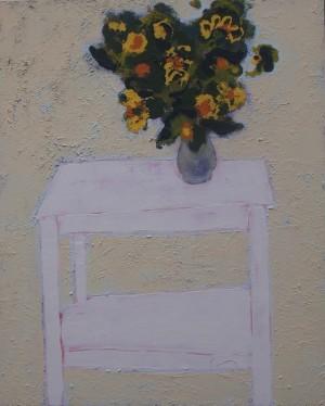 Bouquet 2015 acrylic on canvas 110x90