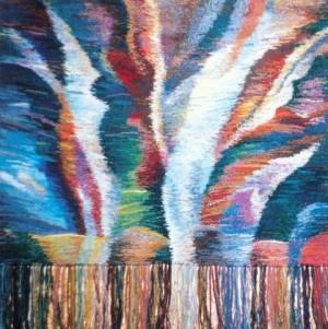 Пробудження, 1998, гоб.,руч.ткац., вов., 95х95