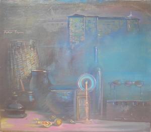 Сутінки Ужгородського замку,2009,  п.о., 60х80