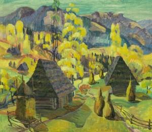 Верховинська осінь, 1996, п.о., 60х70