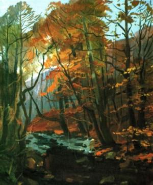 Золота осінь, 1988, п.о., 80х60