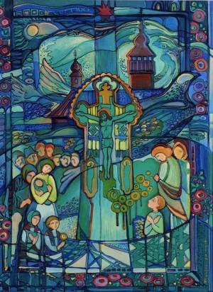 День Святого Духа, 2010, оргал., олія, 85х50