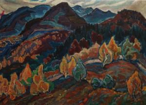 Осінь в горах, 60-т рр., п.о., 73х105