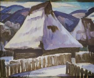 Стара хата, 1983, к.о. 31х37