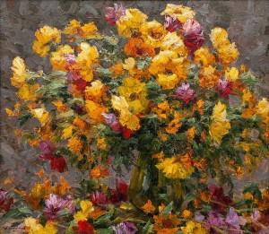 O. Fediaiev 'Flowers', 2018