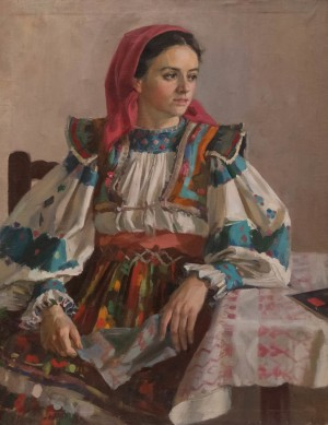 A. Kotska Girl From Kolochava Village', 1950s